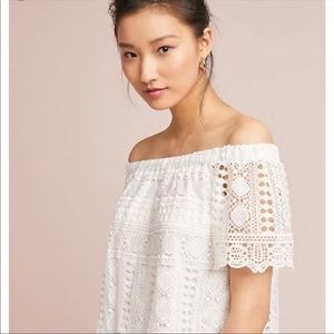 Anthro Sunday In Brooklyn Evie Lace Top NWT